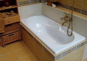акриловый вкладых в ванну